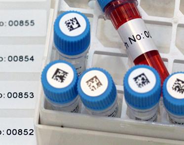 Laboratóriumi és egészségügyi etikett címke